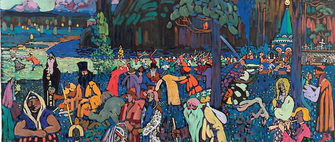 Un Chef D œuvre De Kandinsky Spolie Par Les Nazis Le Point
