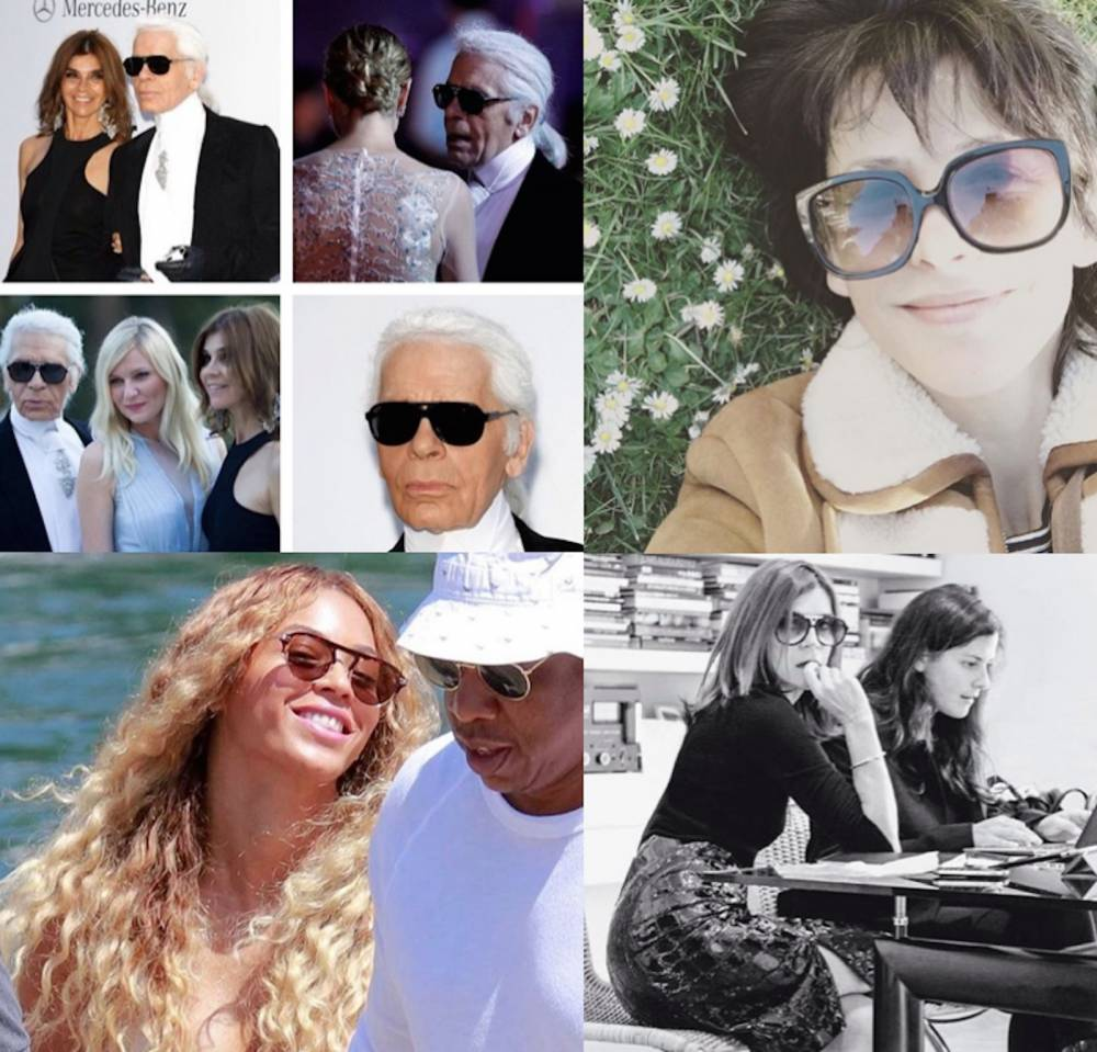 Sophie Marceau, Carine Roitfeld, Karl Lagerfeld, Beyoncé, jphn Dalia ©  DR