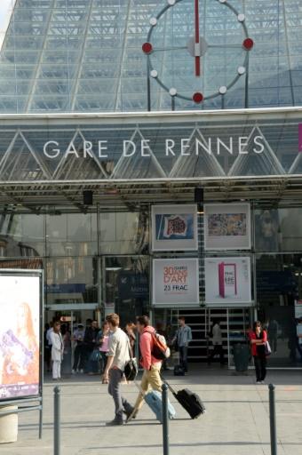 La ligne TGV doit relier à partir de cet été Rennes à Paris en moins d'une heure et demie  © DAMIEN MEYER AFP/Archives