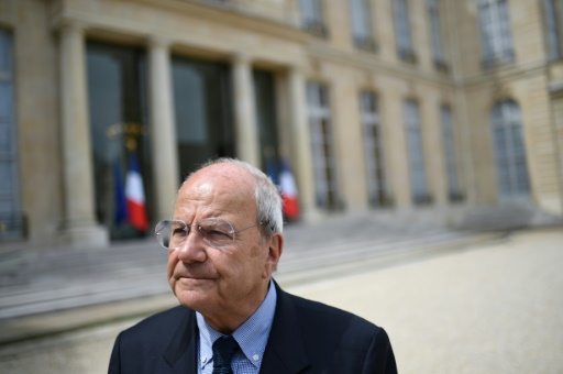 Marc Ladreit de la Charriere le 10 juin  2016 dans la cour de l'Elysée à Paris © STEPHANE DE SAKUTIN AFP/Archives