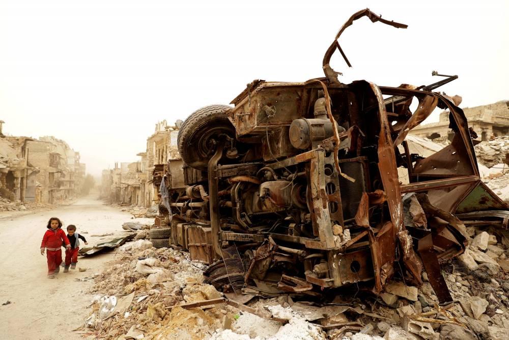 SYRIA-CONFLCIT-ALEPPO ©  JOSEPH EID / AFP