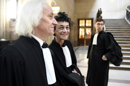 Isabelle Coutant-Peyre, avocate et épouse d' Ilich Ramirez Sanchez, alias Carlos, à son arrivée le 13 mars 2017 au palais de justice de Paris  © Eric FEFERBERG AFP