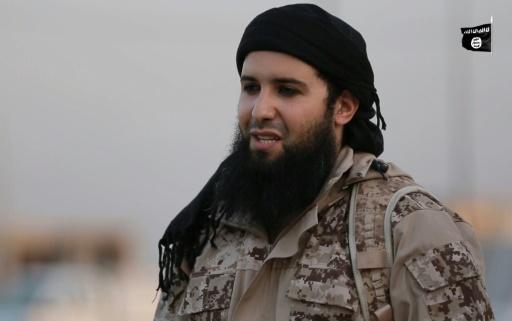 Le jihadiste français Rachid Kassim dans une vidéo propagande du groupe EI, diffusée le 20 juillet 2016 © - Welayat Nineveh/AFP/Archives