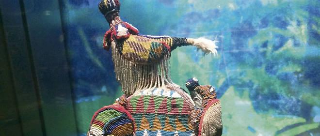 Une trentaine d'œuvres béninoises sont exposées au musée du Quai Branly.