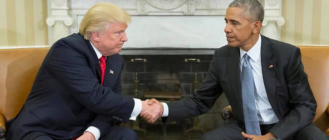 Barack Obama a reçu son successeur à la Maison-Blanche le 10 novembre 2016. Une rencontre glaciale.