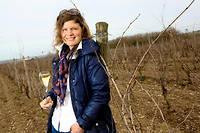 Liv Vincendeau - viticultrice du