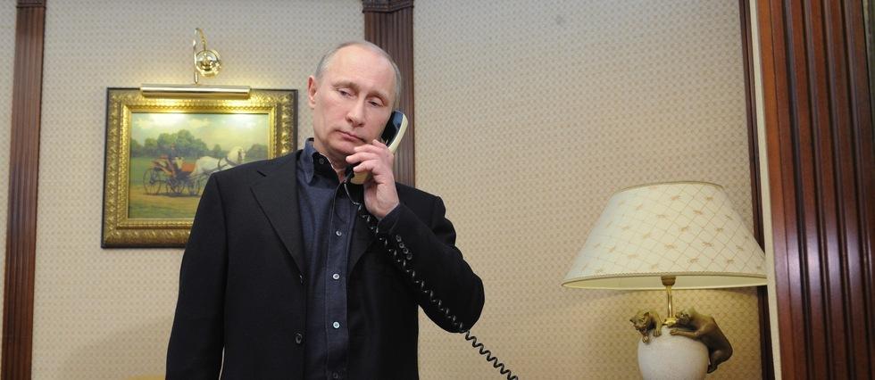 Vladimir Poutine en mars 2012. Le président russe n'a jamais été représenté dans un film hollywoodien