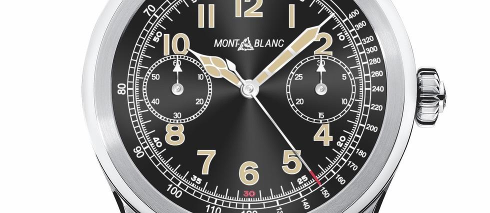 La surprise connectée de luxe du jour : la Summit, première smartwatch de luxe signée Montblanc.