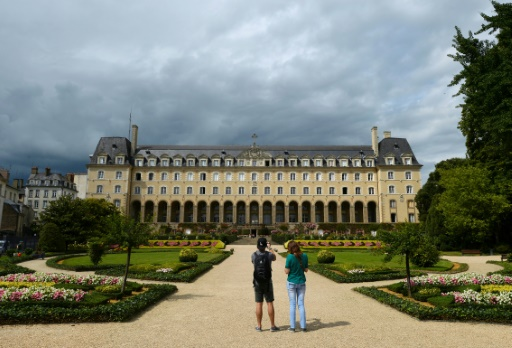 Le Palais Saint-Georges à Rennes le 4 août 2014 © MIGUEL MEDINA AFP/Archives