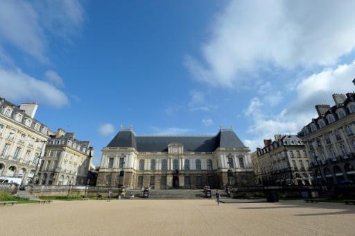 Le Parlement de Bretagne à Rennes le 5 août 2014 © MIGUEL MEDINA AFP/Archives