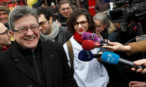 Jean-Luc Melenchon le 7 mars 2017 à Paris © THOMAS SAMSON AFP/Archives