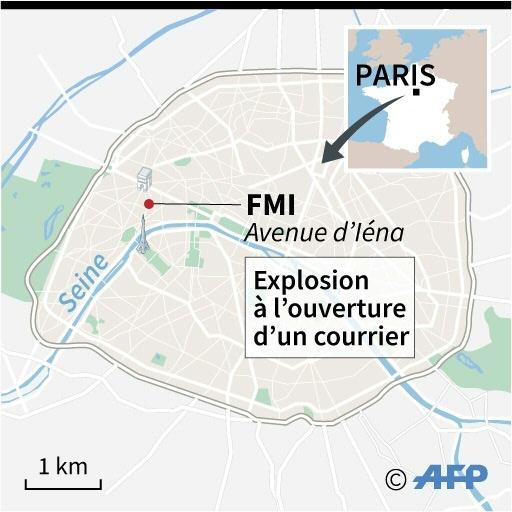 Explosion au FMI © Simon MALFATTO, Paz PIZARRO AFP