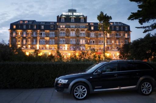 L'Hôtel Royal de La Baule, en Loire-Atlantique, le 6 septembre 2014 © JEAN-SEBASTIEN EVRARD AFP/Archives
