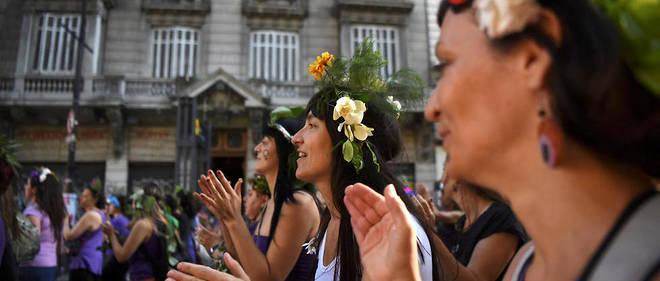 Des femmes manifestent à Buenos Aires en novembre 2016. Image d'illustration.