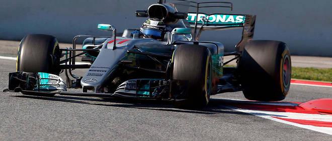 Valtteri Bottas fait des essais en Catalogne, le 10 mars dernier.