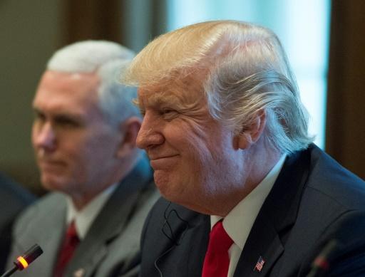 Le président Trump le 20 mars 2017 à Washington © MOLLY RILEY AFP