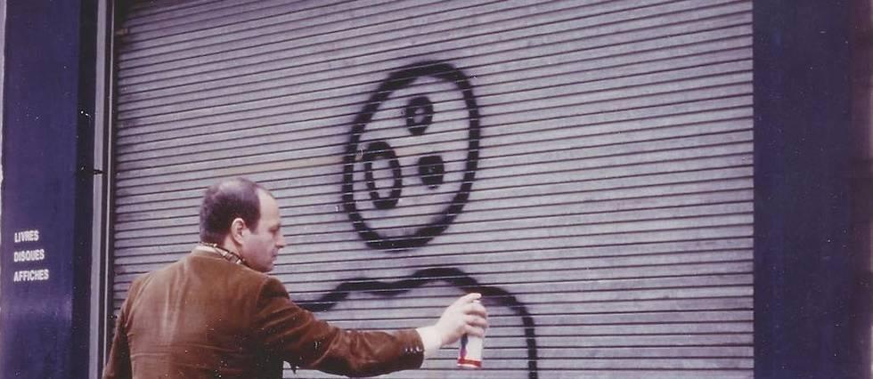 Gérard Zlotykamien à Paris, en 1984.