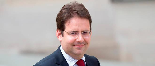 Matthias Fekl dans la cour de l'Élysée, le 3 août 2016.
