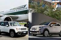 La Jeep Renegade a gauche et la Fiat 500X a droite sont dans le collimateur allemand (C)LaPresse/Daniele Badolato