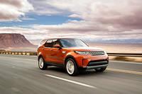 Le Land Rover Discovery surprend, en dépit de sa taille, par son aisance sur tous les terrains ©Nick Dimbleby