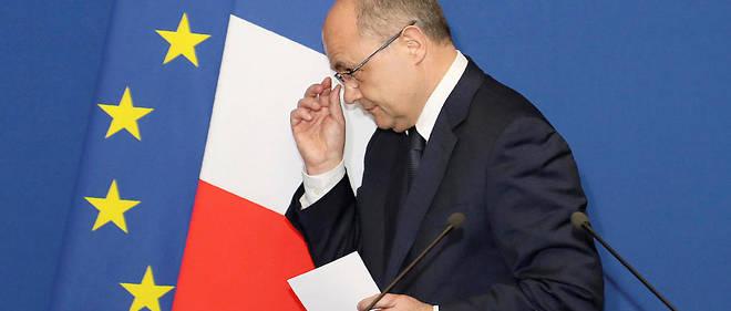 Bruno Le Roux a annoncé sa démission du gouvernement, mardi 21 mars 2017 à 18 heures.