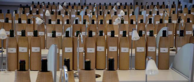 Dégustation à la Maison des vins de Saint-Émilion.