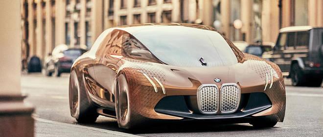 Avant de devenir autonomes comme ce concept Vision Next 100, les futures BMW vont se faire de plus en plus luxueuses.