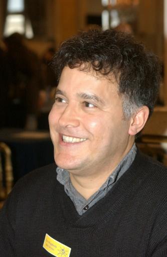 L'écrivain marocain Fouad Laroui à Paris, le 5 février 2005 © Boyan Topaloff AFP