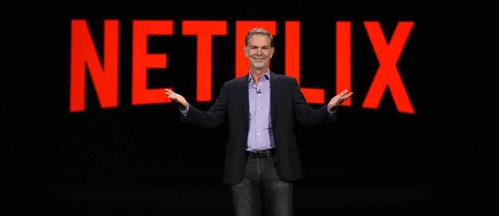 Reed Hastings, le PDG de Netflix, le 6 janvier 2016 à Las Vegas.