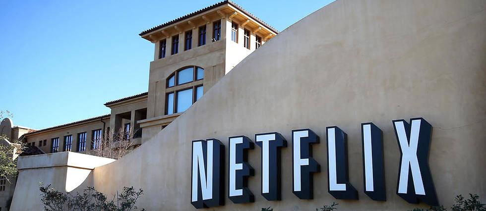 Un aperçu du siège de Netflix à Los Gatos, le 22 janvier 2014.
