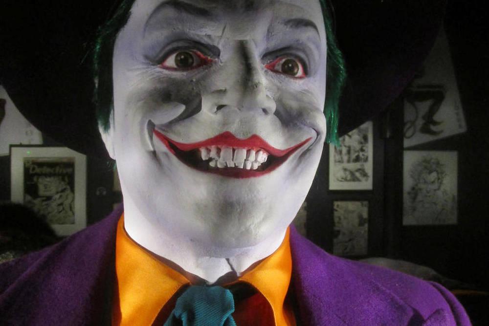 Costume de Jack Nicholson dans Batman (1989).