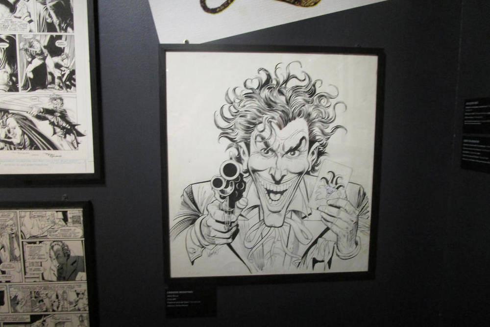 Les dessins du comics Batman : The Killing Joke.