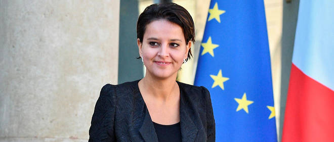 La ministre de l'Education nationale, Najat Vallaud-Belkacem.