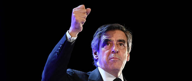Fillon donnait un grand meeting à Toulon vendredi.
