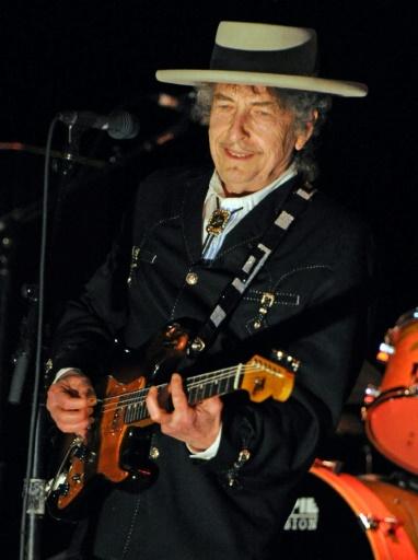 Le musicien américain Bob Dylan, le 25 avril 2011 à Byron Bay en Australie © TORSTEN BLACKWOOD AFP/Archives