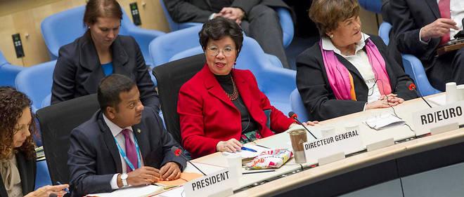 Au centre, Margaret Chan, directrice de l'OMS. Son mandat s'achève. L'occasion de réformer l'organisation ?