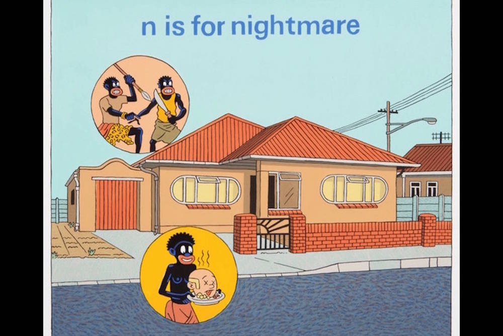N is for Nightmare (House), 2015.