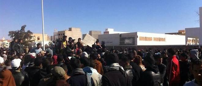 Grève générale et sit-in dans les entreprises à Tataouine (image d'illustration).