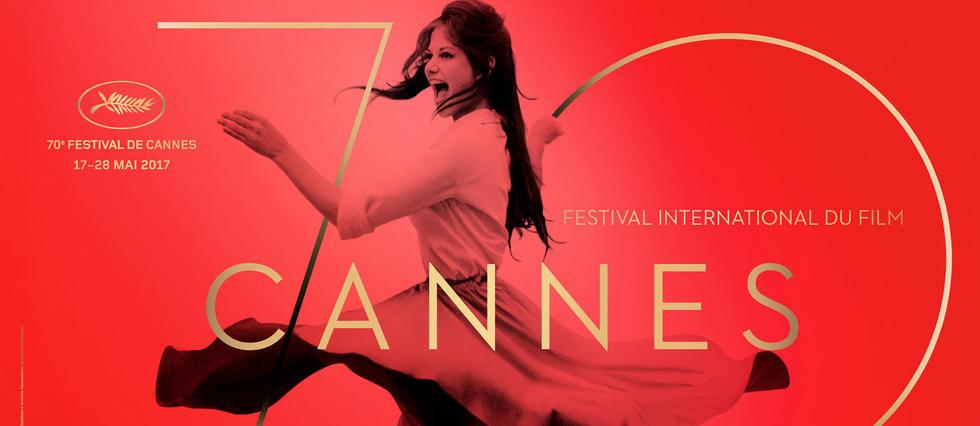 Claudia Cardinale sur l'affiche du 70e Festival de Cannes.