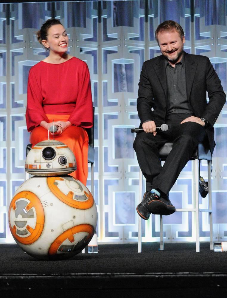 Star Wars: The Last Jedi Panel at the 2017 Star Wars Celebration © Gerardo Mora Gerardo Mora / Getty Images North America / Getty Images for Disney