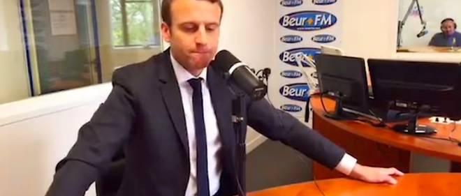 """""""Il a fait un ou deux trucs un peu plus radicaux. C'est ça qui est compliqué. Mais à côté de ça, c'est un type bien"""", a déclaré, hors antenne, Emmanuel Macron ce vendredi sur l'antenne de Beur FM."""