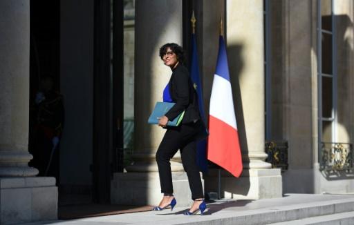 La ministre du Travail Myriam El Khomri, arrivant à l'Élysée, le 22 août 2016 à Paris © STEPHANE DE SAKUTIN AFP/Archives