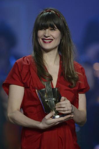 La chanteuse française Camille lors des 28e Victoire de la Musique, le 8 février 2013 au Zénith de Paris © BERTRAND GUAY AFP/Archives