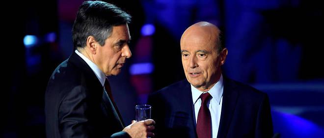 François Fillon et Alain Juppé doivent s'afficher ensemble à l'occasion d'une visite de l'école 42, mercredi 19 avril.
