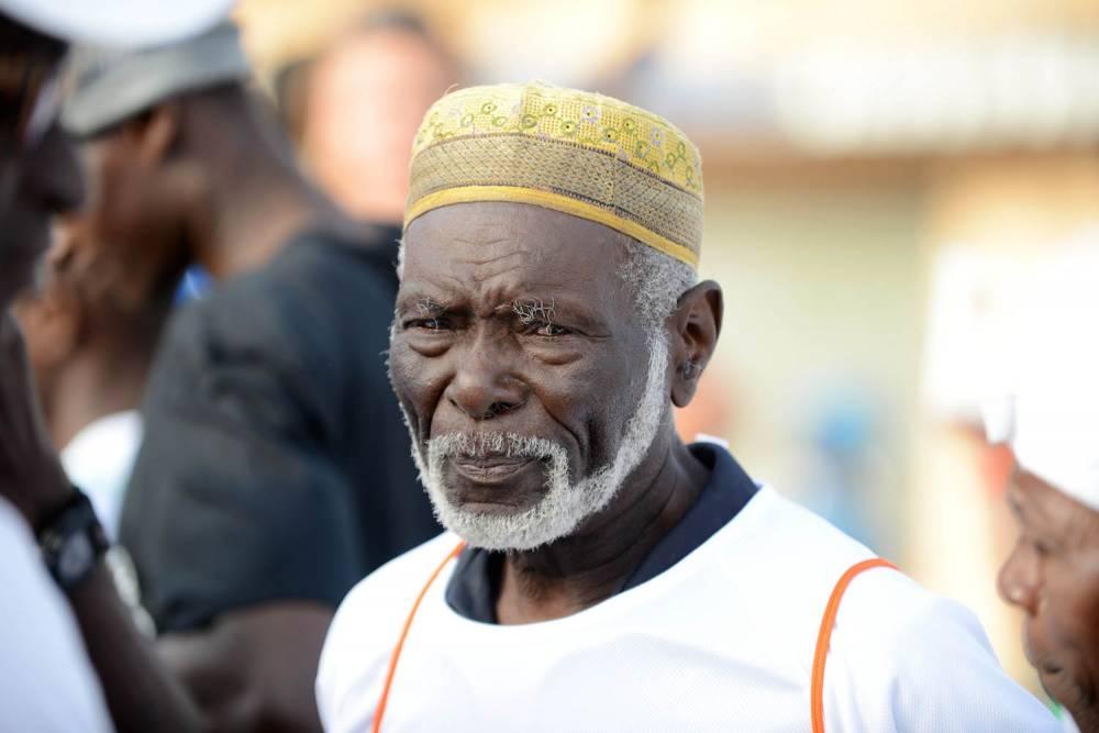 Diomaye Séné, 86 ans.  ©  Xavier Bourgois