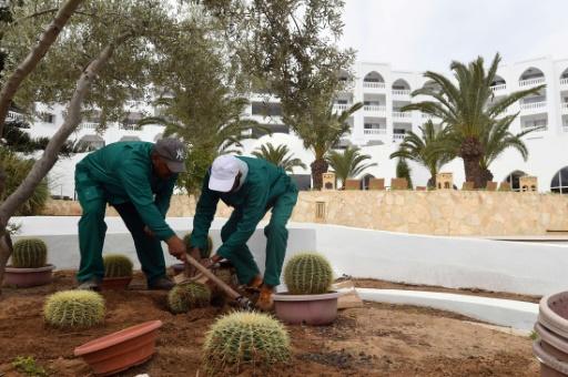 Malgré la crise traversée, aucun des quelque 200 employés n'a été licencié, selon le directeur général de l'hôtel Ramzi Kessissa. © FETHI BELAID AFP