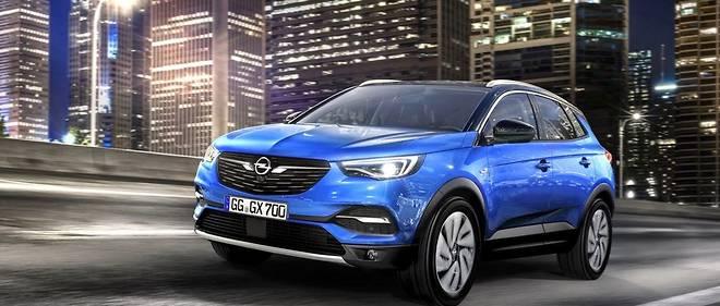 Opel Granland X.