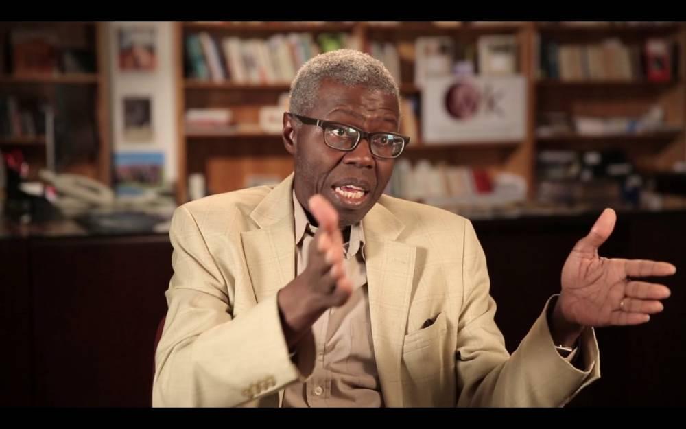 """Souleymane Bachir Diagne, professeur de philosophie à l'université Columbia, a publié un livre intitulé """"Comment philosopher en islam ?"""", chez Philippe Rey et Jimsaan. Il était le commissaire scientifique du Forum social soufi.  ©  DR"""