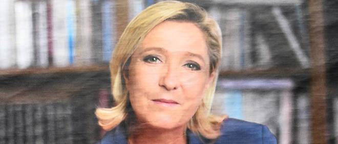 Marine Le Pen : la femme coupée en deux - Le Point