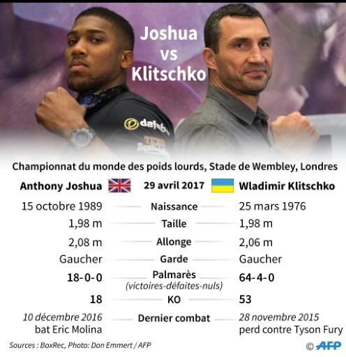 Boxe: Joshua vs. Klitschko © Matthias BOLLMEYER, Jonathan JACOBSEN AFP